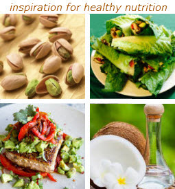 healthy nutrition and foods